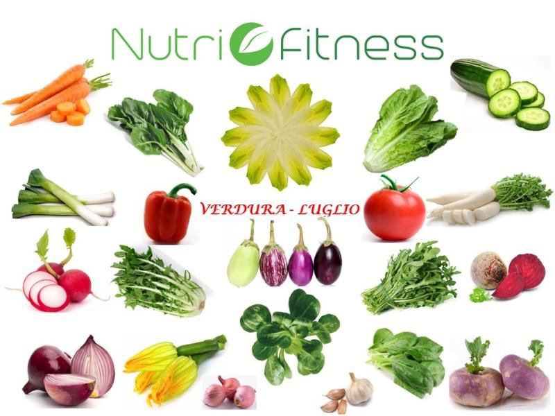 Frutta Verdura Stagione Luglio