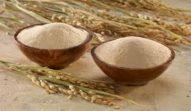 Crusca di riso scuro per ridurre il colesterolo