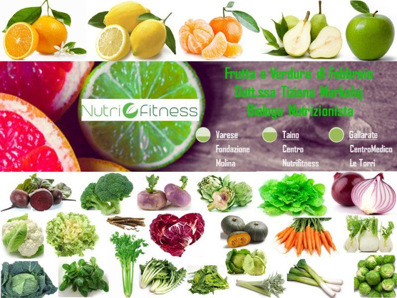 Frutta e Verdura di Stagione - Febbraio