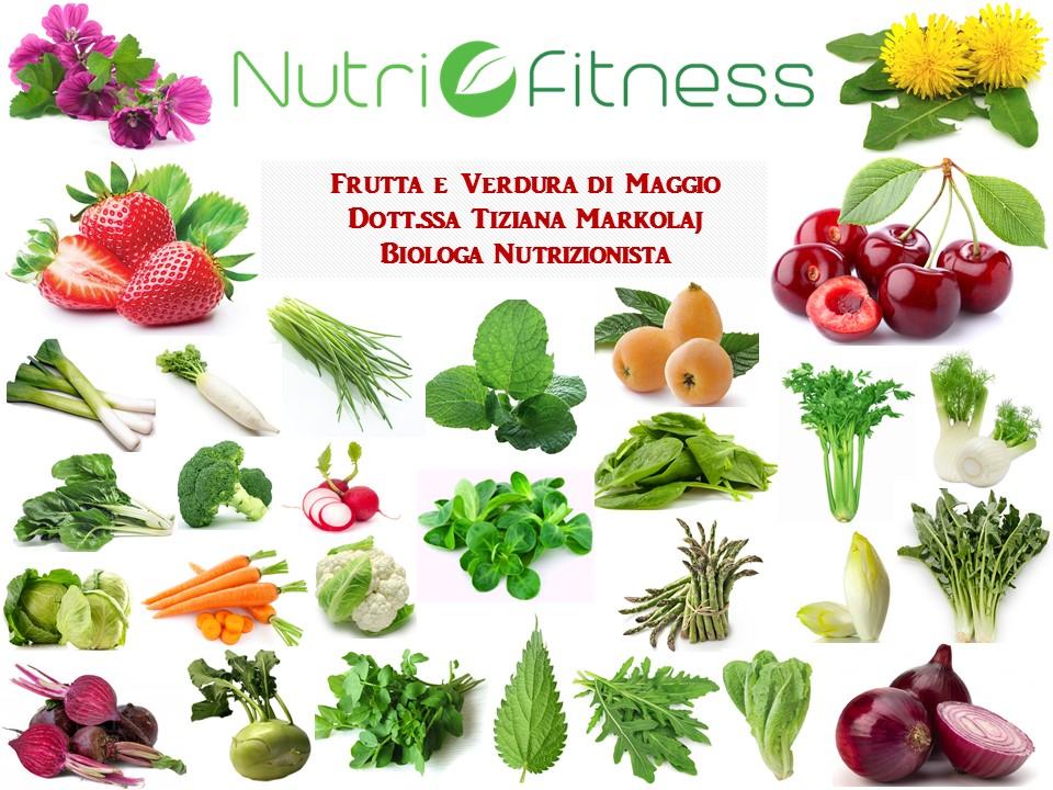 Frutta e Verdura di Maggio