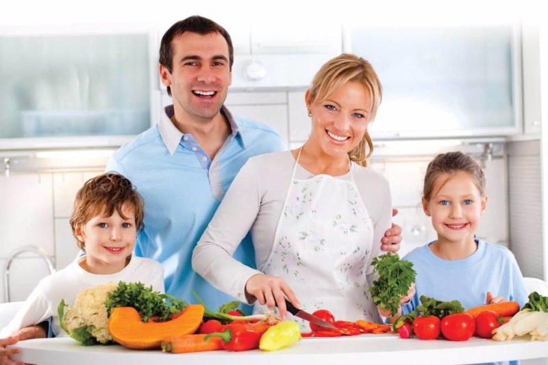 Se tu mangi sano, tuo figlio ti copierà