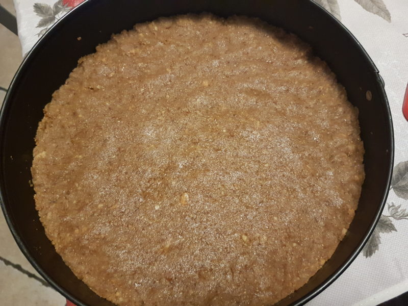 Cheesecake cremosa e leggera