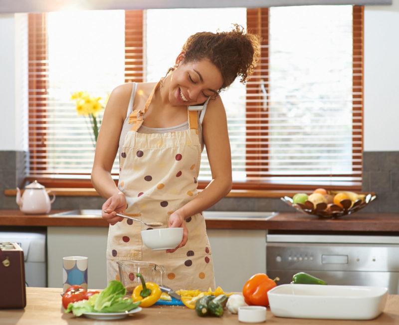Riso basmati integrale con gamberetti e zucchine