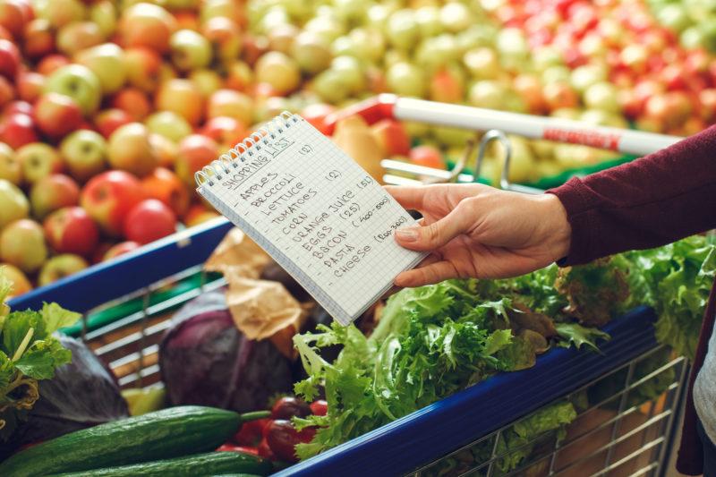 Crea il tuo carrello sano frutta e verdura