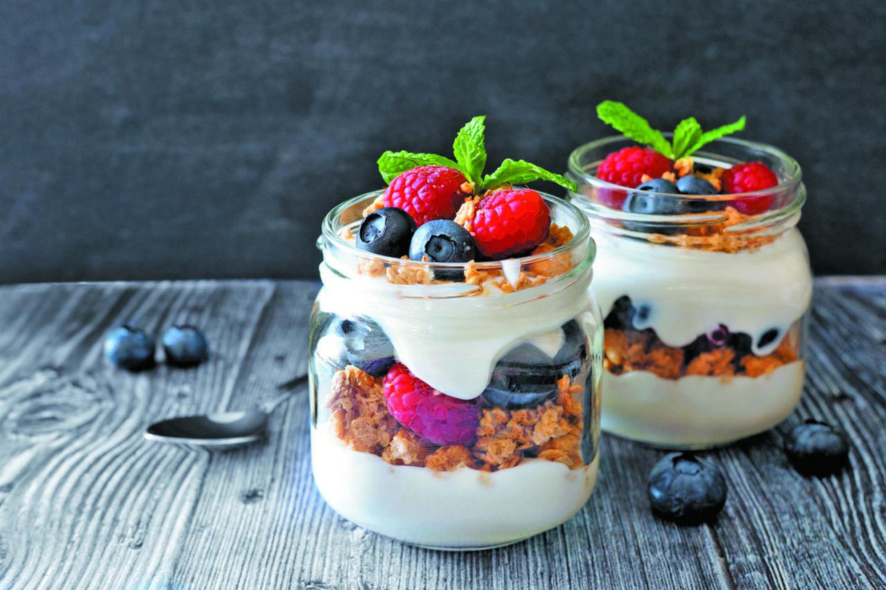 crea il tuo carrello sano: yogurt