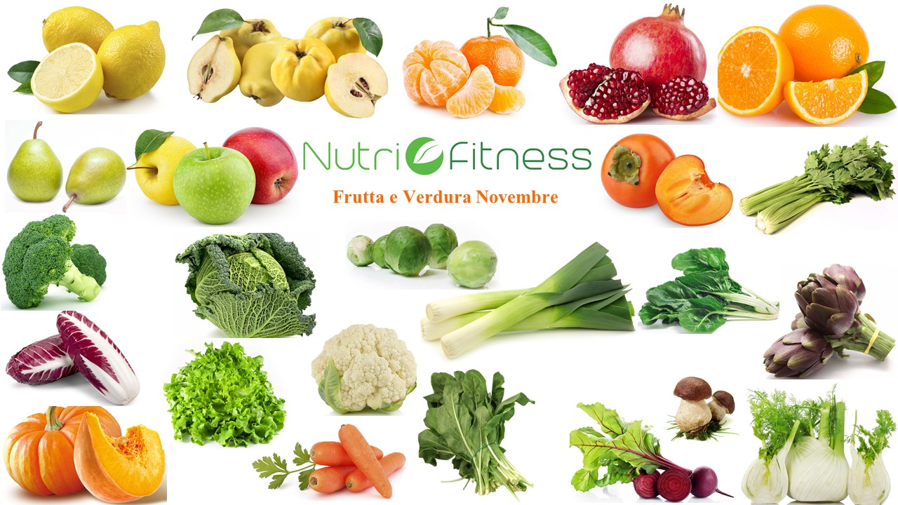frutta verdura novembre nutrifitness
