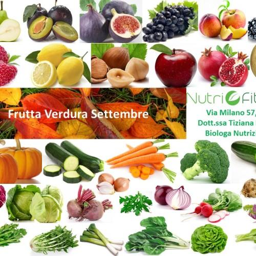 Frutta e Verdura di Stagione - Settembre