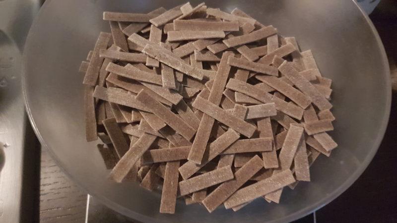 Pizzoccheri con erbette e ricotta