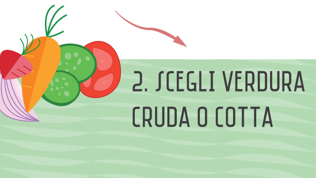 Verdura - Crea il tuo secondo piatto sano