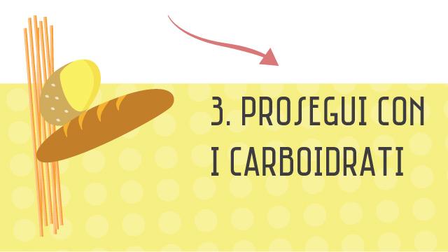 Prosegui con i carboidrati - Componi la tua insalata sana