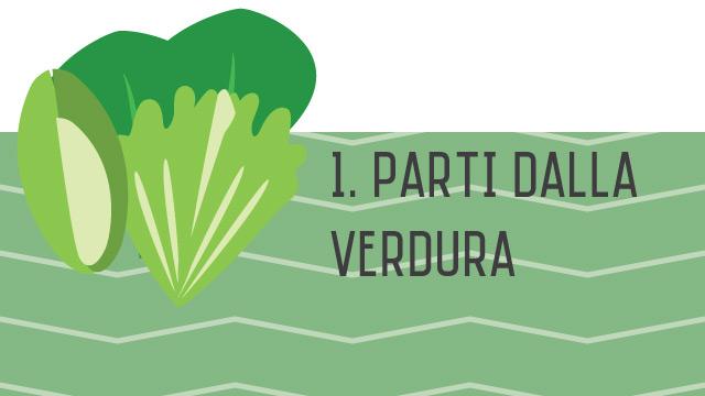 Parti dalla verdura - Componi la tua insalata sana