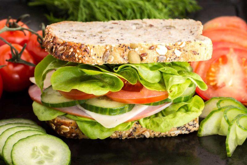Crea il tuo panino sano