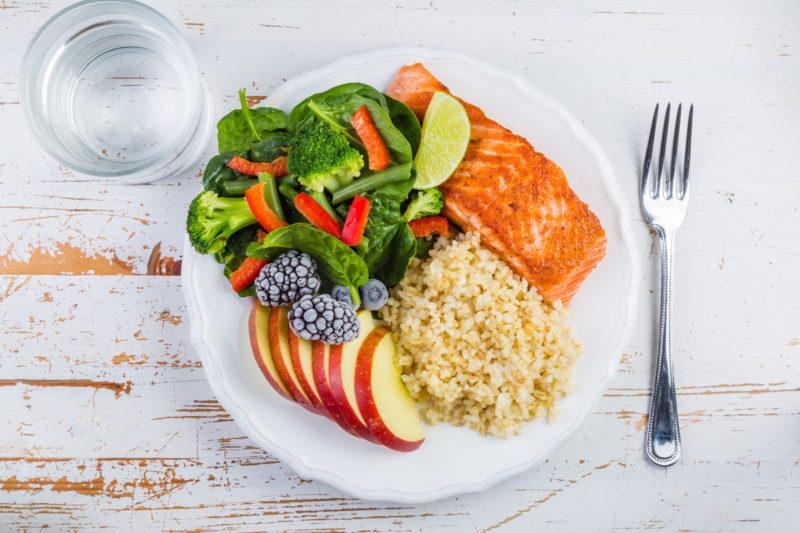 Crea il tuo piatto unico sano