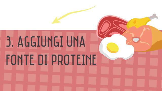 Proteine - Crea il tuo piatto unico