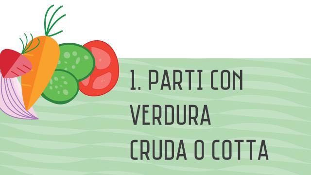 Verdura - Crea il tuo piatto unico