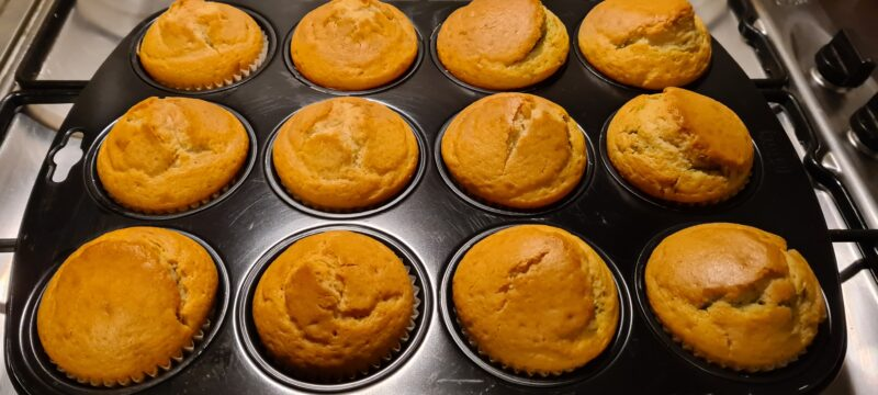 Muffins soffici allo yogurt